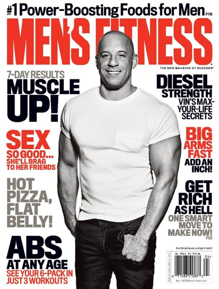 Men's Fitness Cover - 4/1/2015