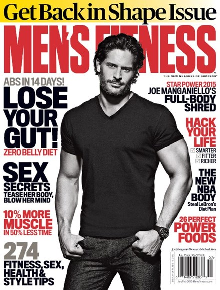 Men's Fitness Cover - 1/1/2015