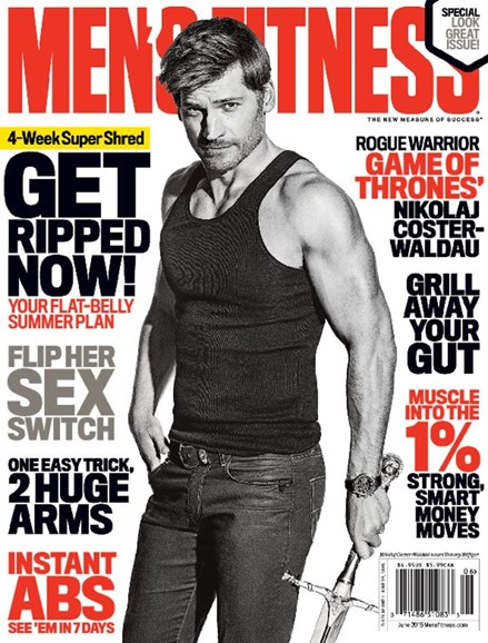 Men's Fitness Cover - 6/1/2015