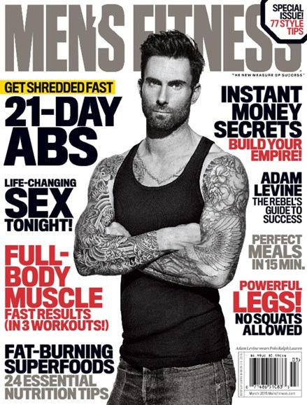 Men's Fitness Cover - 3/1/2015