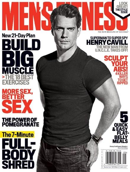 Men's Fitness Cover - 9/1/2015