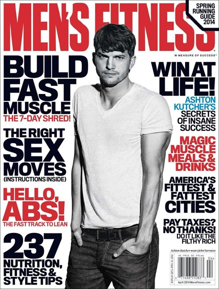 Men's Fitness Cover - 4/1/2014