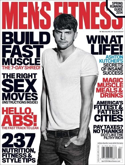 Men's Fitness Cover - 4/1/2014
