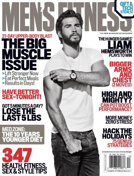 Men's Fitness Cover - 12/1/2014