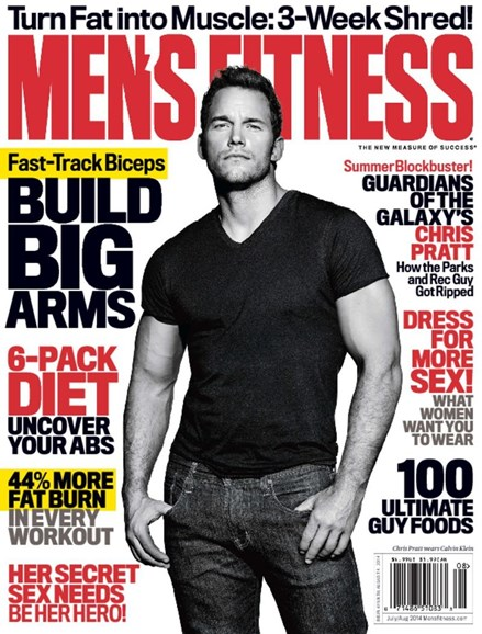 Men's Fitness Cover - 7/1/2014