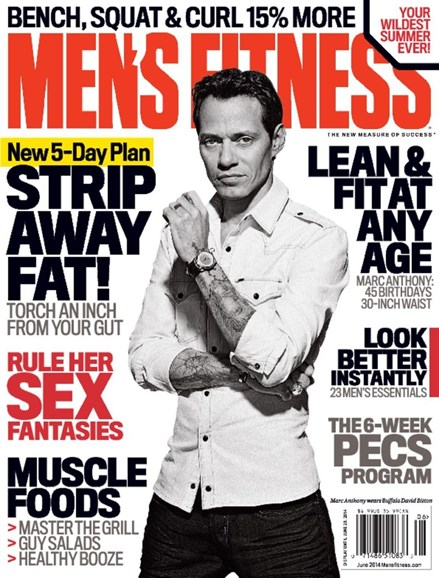 Men's Fitness Cover - 6/1/2014