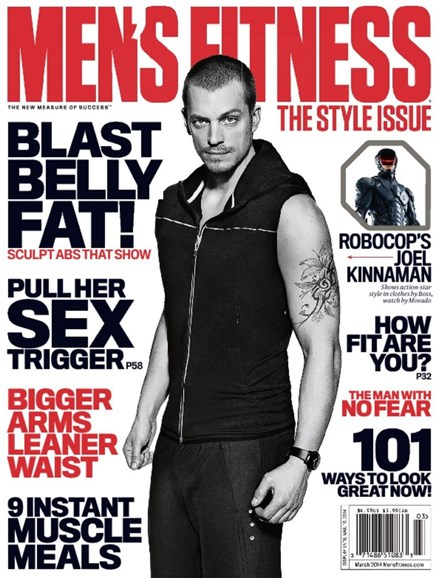 Men's Fitness Cover - 3/1/2014