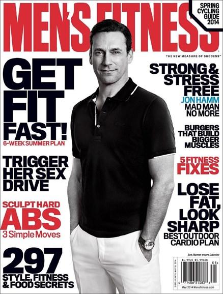 Men's Fitness Cover - 5/1/2014