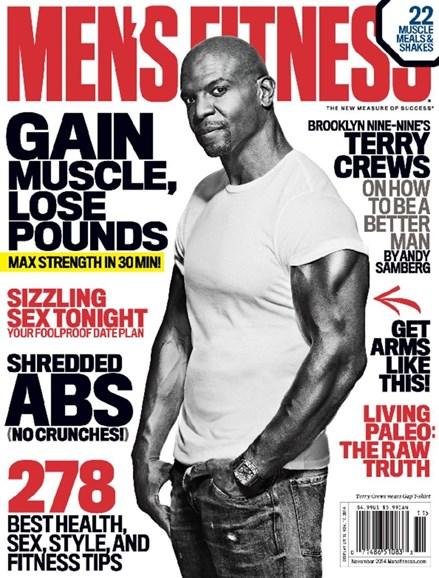 Men's Fitness Cover - 11/1/2014