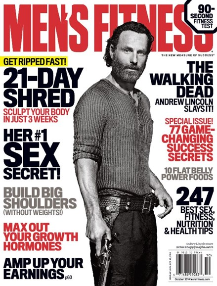 Men's Fitness Cover - 10/1/2014
