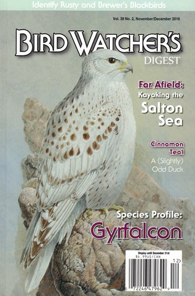 Bird Watcher's Digest Cover - 11/1/2016