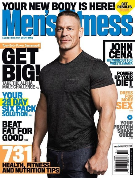 Men's Fitness Cover - 4/1/2013