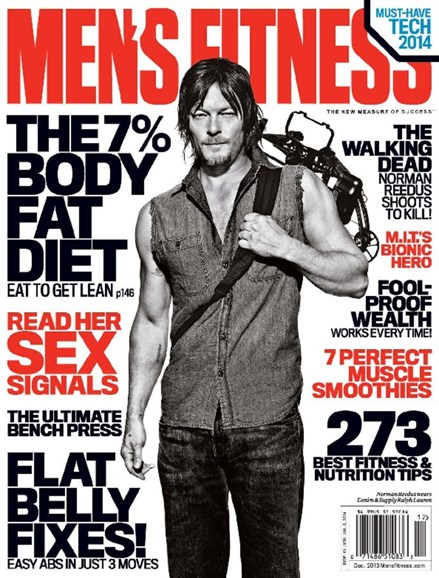 Men's Fitness Cover - 12/1/2013
