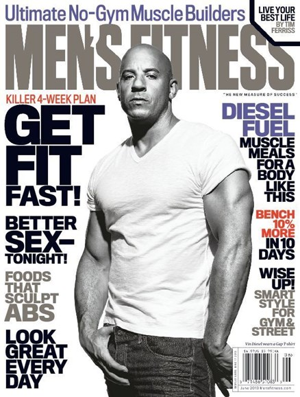 Men's Fitness Cover - 6/1/2013