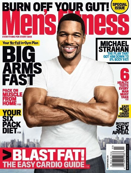 Men's Fitness Cover - 3/1/2013