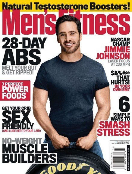 Men's Fitness Cover - 5/1/2013
