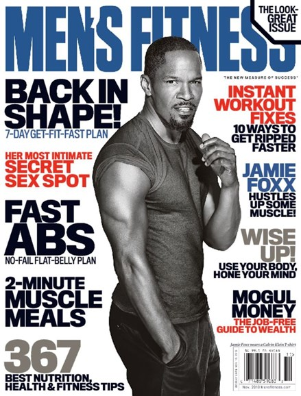 Men's Fitness Cover - 11/1/2013