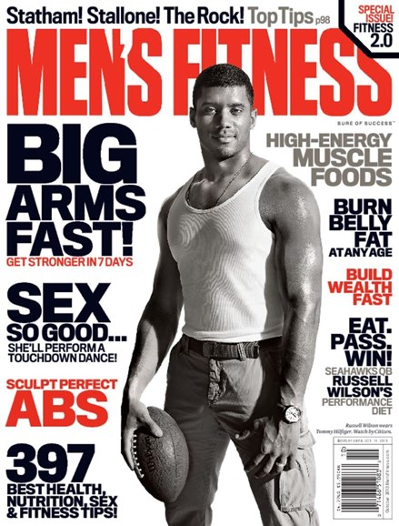 Men's Fitness Cover - 10/1/2013