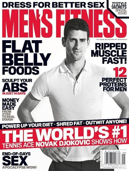 Men's Fitness Cover - 9/1/2013