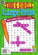 Find and Circle Large Print Magazine 12/1/2016