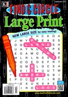 Find and Circle Large Print Magazine 2/1/2017