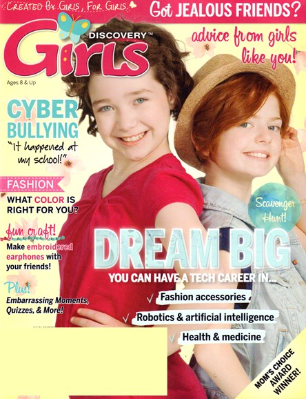 Discovery Girls Cover - 3/1/2017