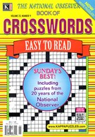 The National Observer Book of Crosswords Magazine 12/1/2016