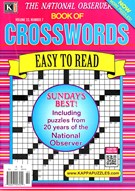 The National Observer Book of Crosswords Magazine 10/1/2016