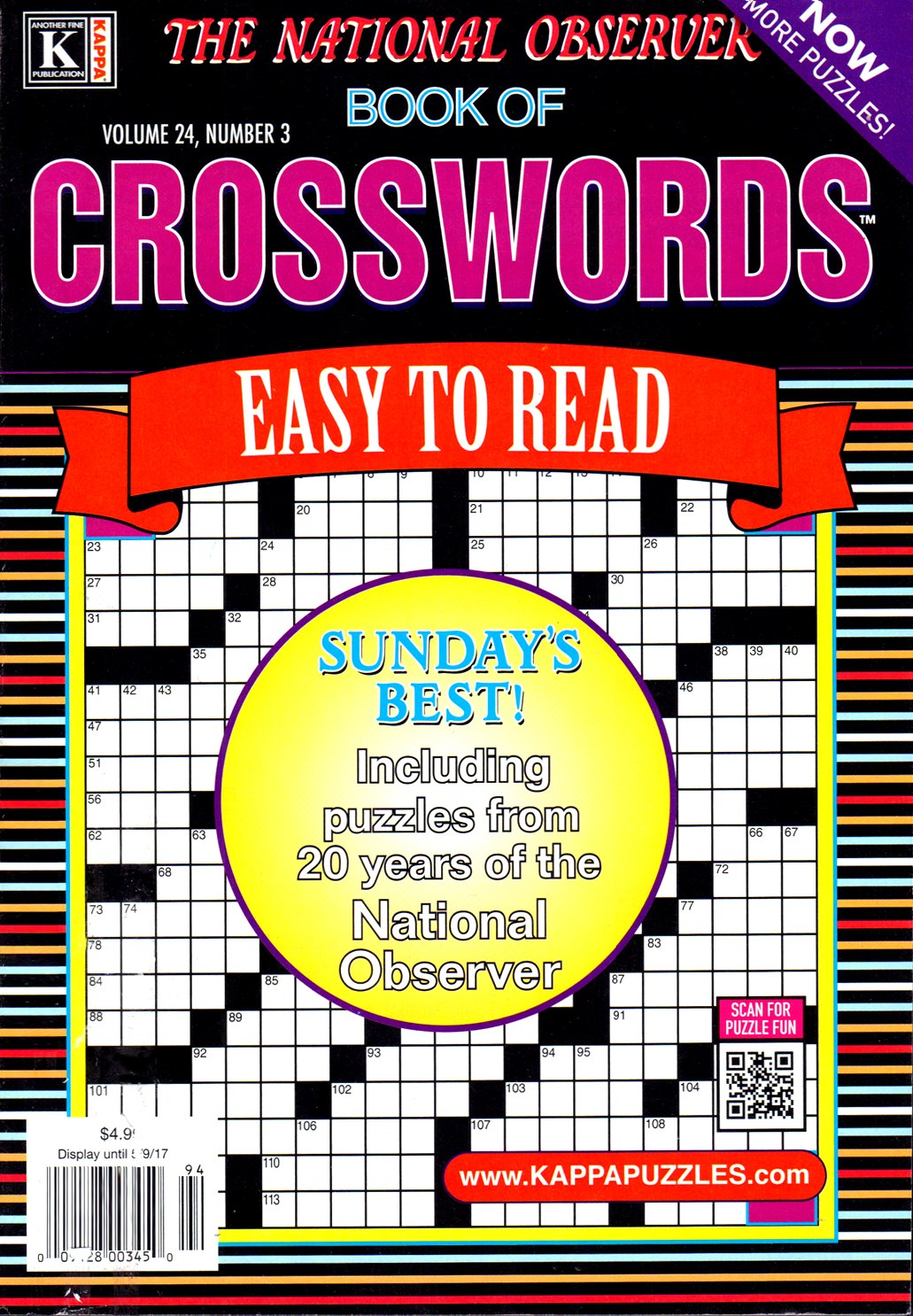 Best Price for National Observer Book of Crosswords Magazine Subscription
