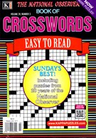 The National Observer Book of Crosswords Magazine 3/1/2017