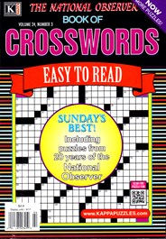 The National Observer Book of Crosswords