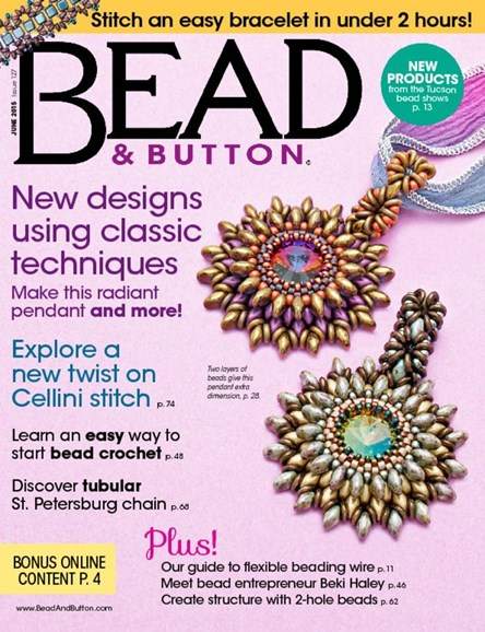 Bead & Button Cover - 6/1/2015