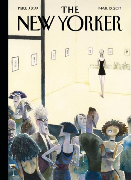 The New Yorker Cover - 3/13/2017