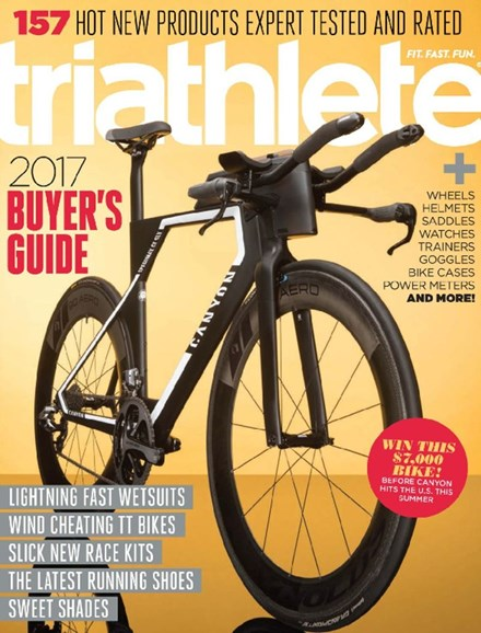 Triathlete Cover - 4/1/2017