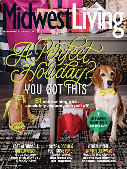 Midwest Living Cover - 11/1/2016