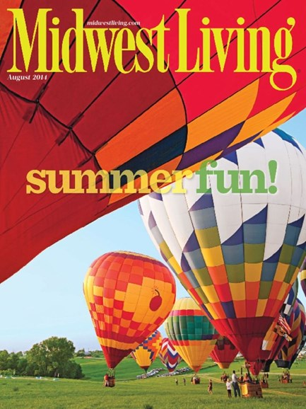 Midwest Living Cover - 7/1/2014