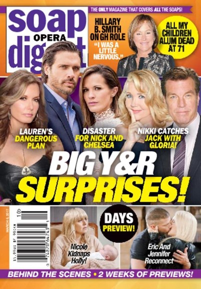 Soap Opera Digest Cover - 3/6/2017