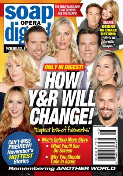 Soap Opera Digest Cover - 11/14/2016