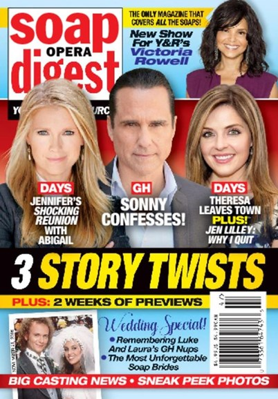 Soap Opera Digest Cover - 11/21/2016