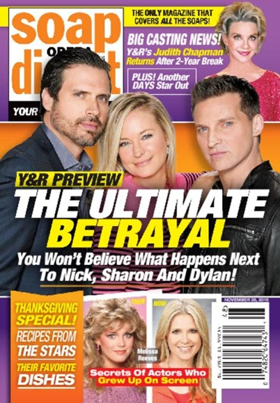 Soap Opera Digest Cover - 11/28/2016