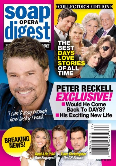Soap Opera Digest Cover - 8/22/2016