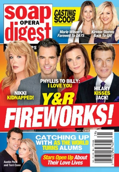 Soap Opera Digest Cover - 7/11/2016