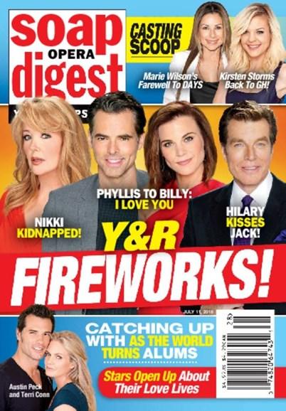 Soap Opera Digest Cover - 7/11/2016