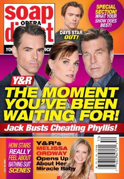 Soap Opera Digest Cover - 7/25/2016