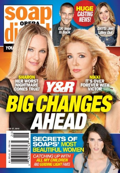 Soap Opera Digest Cover - 6/27/2016