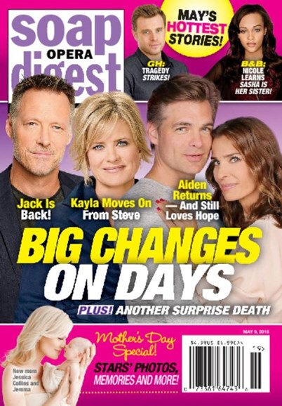 Soap Opera Digest Cover - 5/9/2016