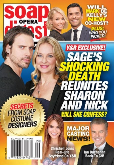 Soap Opera Digest Cover - 5/16/2016