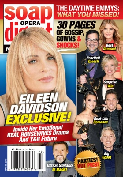 Soap Opera Digest Cover - 5/23/2016