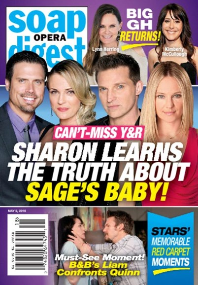 Soap Opera Digest Cover - 5/2/2016