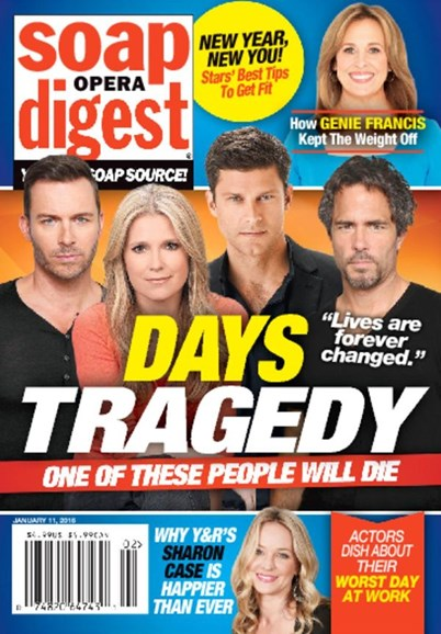 Soap Opera Digest Cover - 1/11/2016